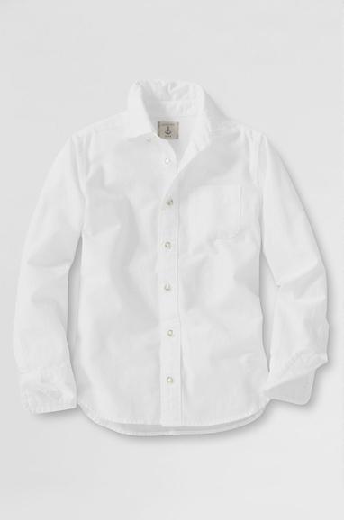 White Boys Washed Oxford Shirt