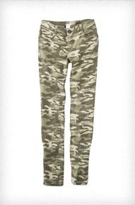 Xhilaration Skinny Camouflage Denim
