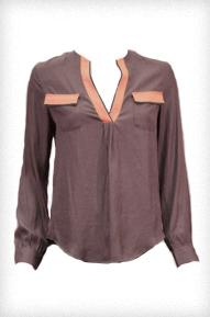 Zoa Pocket Front Blouse