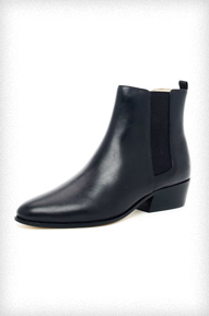 KORS Michael Kors Marden Leather Ankle Boot