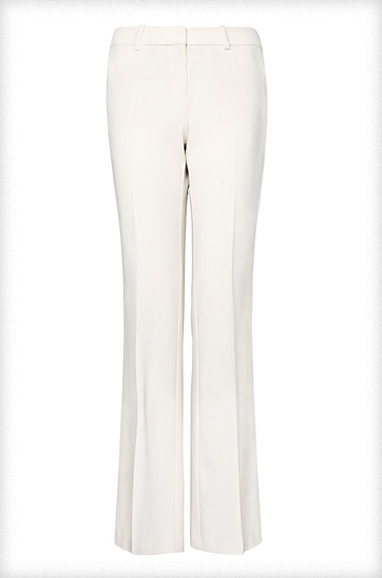 Mango Straight-Cut Suit Trousers