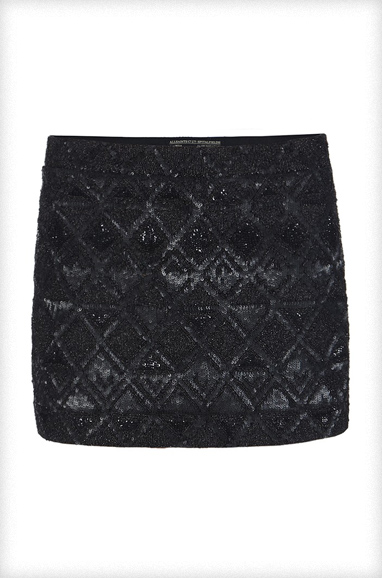AllSaints Fibonacci Skirt