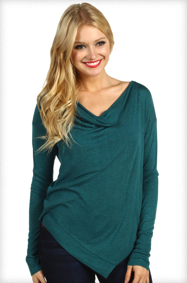 Kensie Asymmetrical Sweater