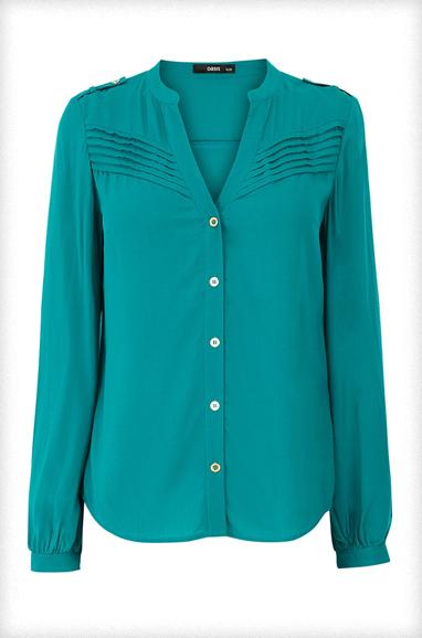 Oasis Pintuck Viscose Shirt
