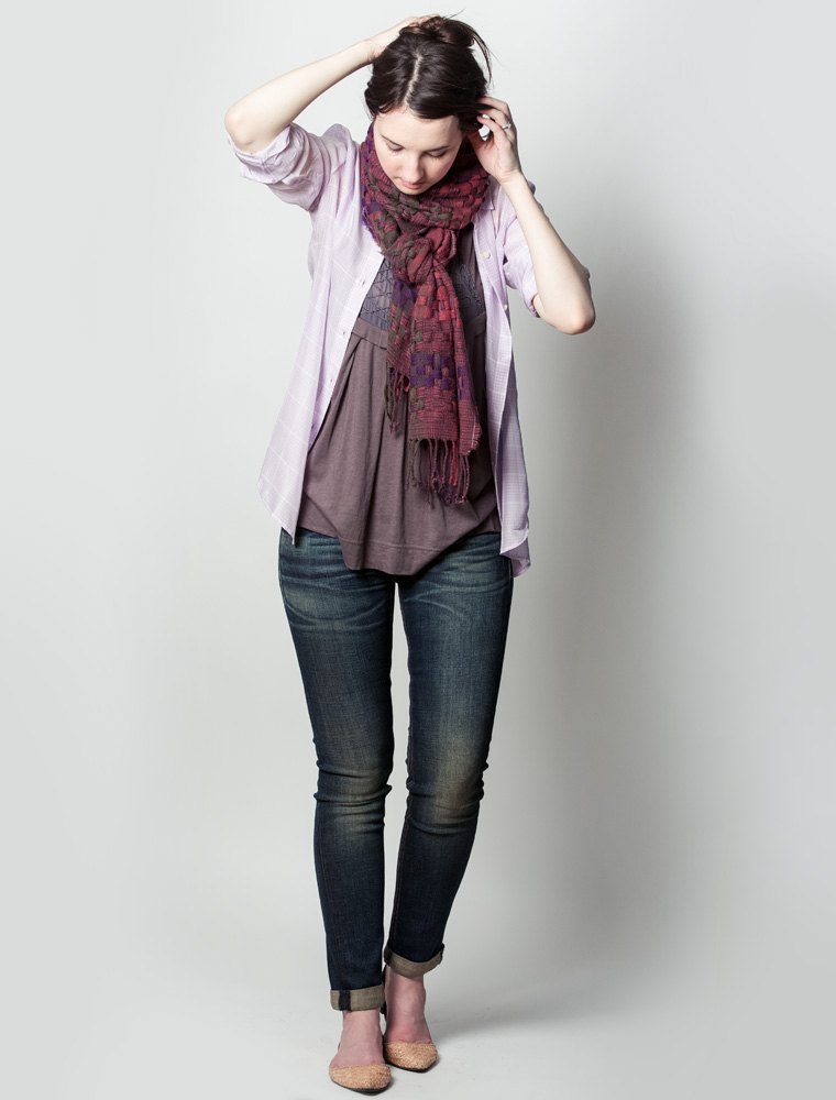 Scarf Look